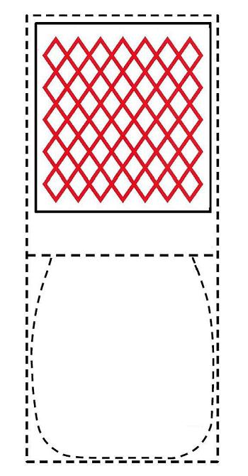 マヨネーズのパッケージの位置商標