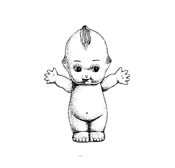 キューピー人形の立体商標